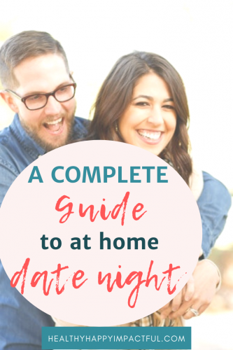 at home date night