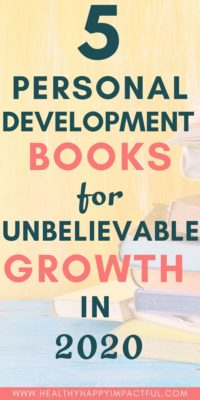 personal development books for growth in 2020