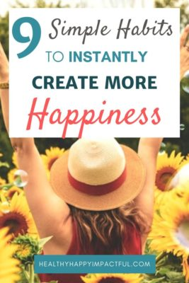 create more happiness