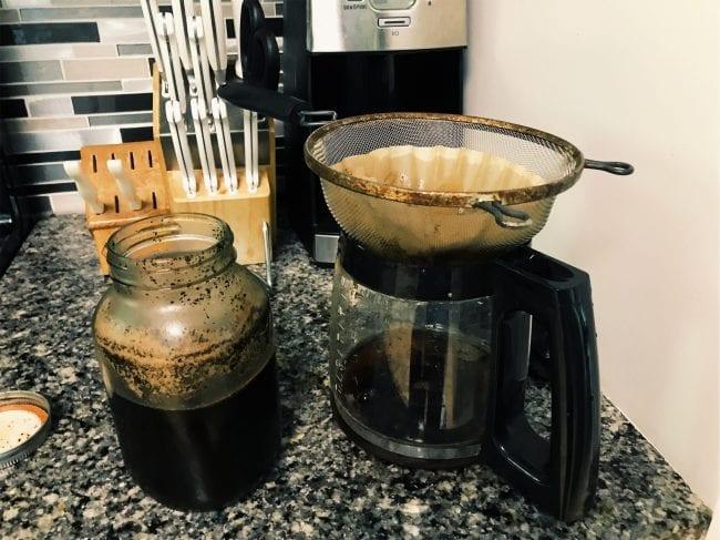 DIY cold coffee