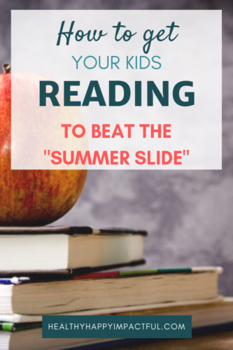 "Get your kids reading this summer to beat the ""summer slide."" Ideas and activities to give children more motivation to read books. Awesome and fun ways to learn this summer! #learning"