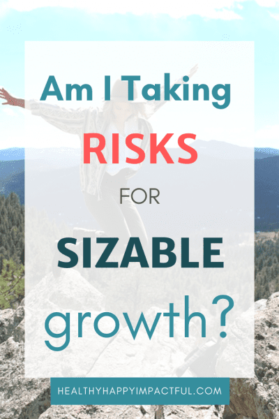 Seasoned blog readers may remember that I had some unique goals for 2019! I aspired to take more risks for personal growth this year. Well, it's mid-year! Am I following through? Am I getting out of my comfort zone in order to grow?!