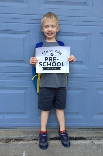 best first day of school picture traditions