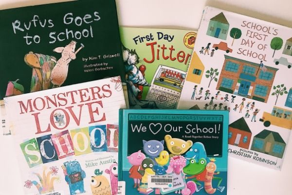back to school traditions ideas, we love our books
