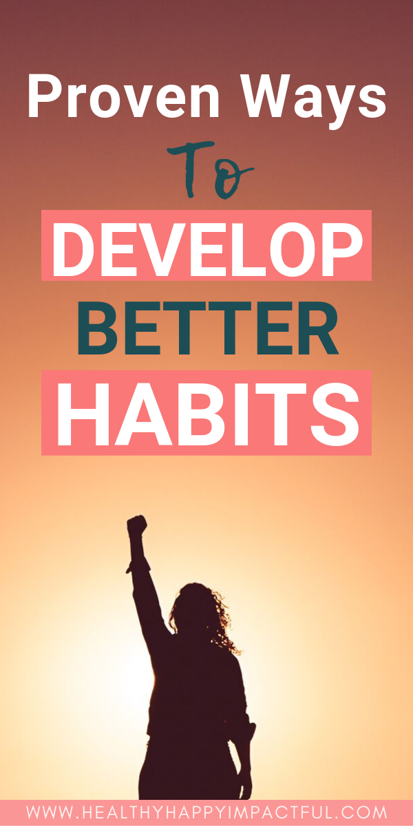 build better habits