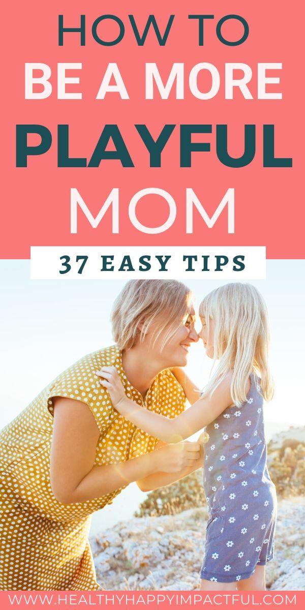 playful mom pin