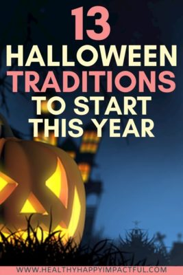 Halloween Traditions to Start Now