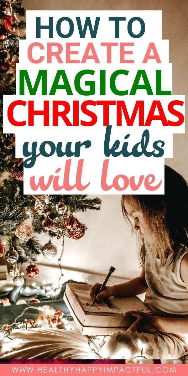 magical Christmas for your kids pin