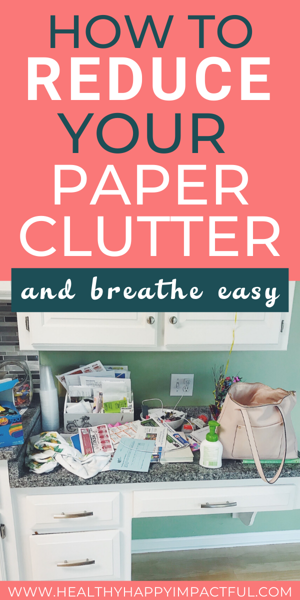 declutter your paper