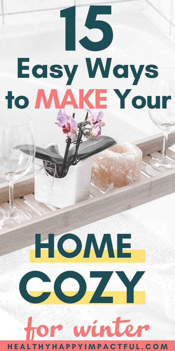 make your home cozy pin