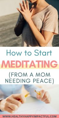 how to meditate for beginners pin