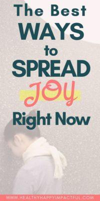 how to spread joy pin