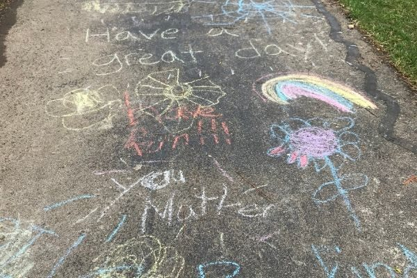 spread positivity through chalk