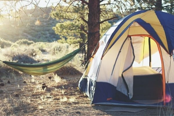camping for your staycation