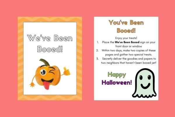Halloween boo your neighbors pdf