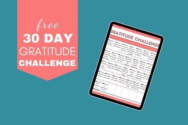 gratitude challenge pdf 2020
