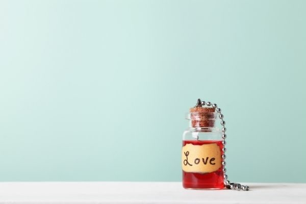 unique love gifts for him: love potion