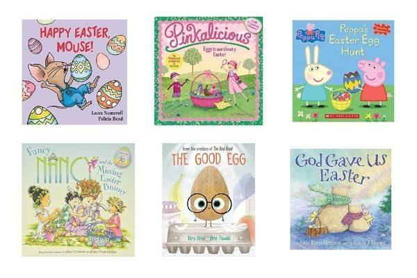 Books for Easter baskets for girls