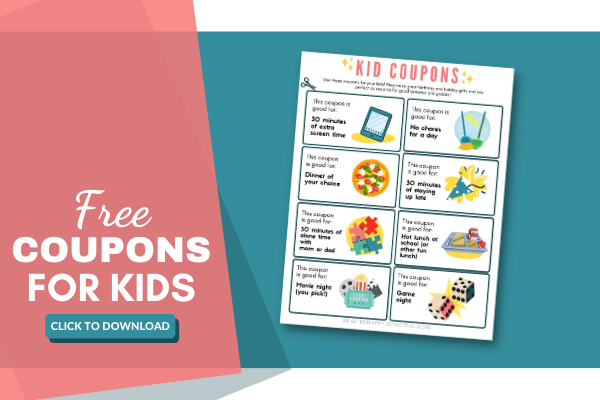 printable coupon for kids