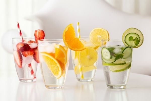 monthly self care challenge: fruit waters