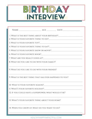 free birthday interview questionnaire pdf printable